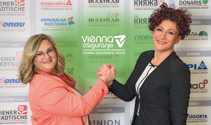 Uprava Vienna osiguranja VIG: Mersiha Korjenić, Izvršna direktorica i Sabina Mujanović predsjednica Uprave Vienna osiguranja VIG