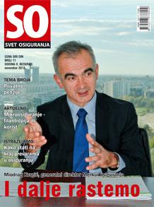 Arhiva časopisa - broj 11, novembar 2012. - SR ME MK