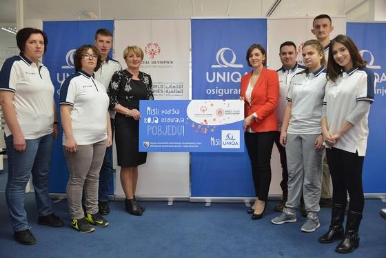 UNIQA osiguranje ponovo uz Specijalnu olimpijadu Bosne i Hercegovine!