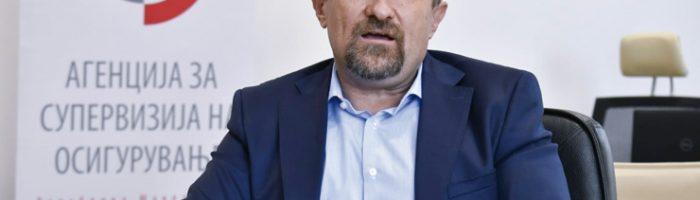 Krst Šajnoski, predsednik Stručnog saveta Agencije za superviziju osiguranja