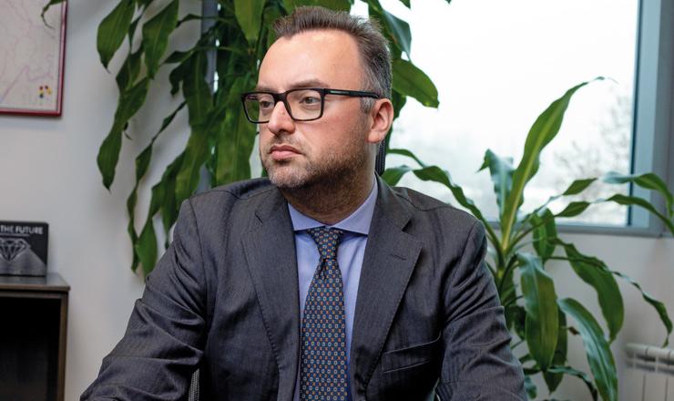 Mario Carini, glavni izvršni direktor i predsjednik Upravnog odbora Generali osiguranja d.d. u Hrvatskoj