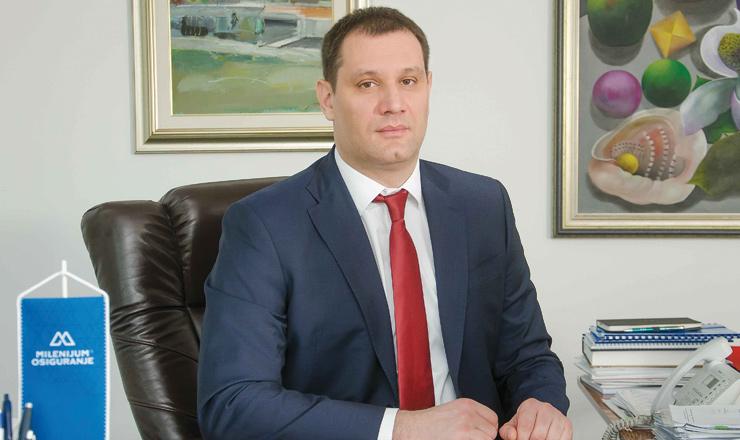 """Ljubiša Veljković, predsednik IO """"Milenijum osiguranja"""""""
