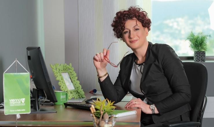 Sabina Mujanović, predsjednica Uprave Vienna osiguranja VIG i predsjednica Skupštine Udruženja društava za osiguranje u FBiH
