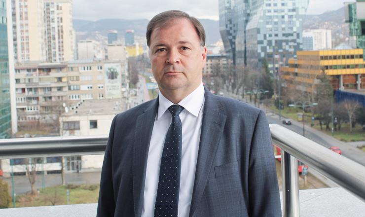 Zlatan Filipović, direktor Bosna Reosiguranja